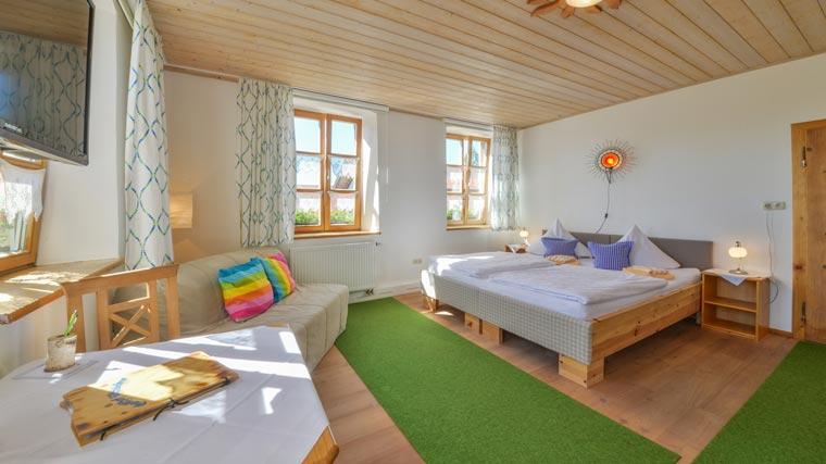 Doppelzimmer im Hotel Pritscher in Bayerbach