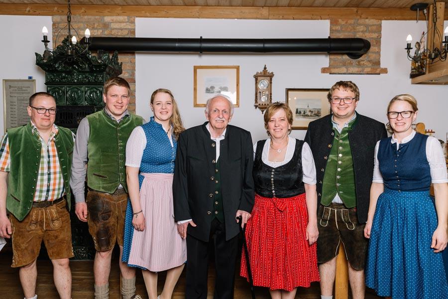 Familie Pritscher in Bayerbach