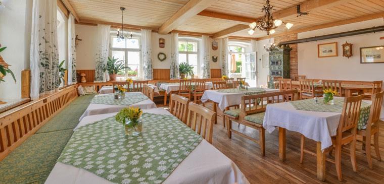 Gastraum von Gasthof und Hotel Pritscher