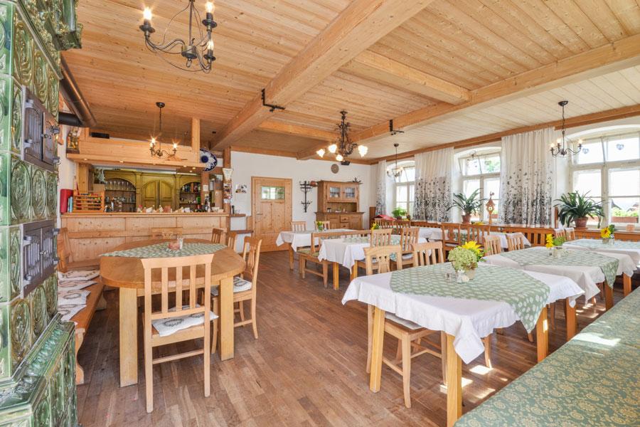 Gaststube im Gasthof und Hotel Pritscher
