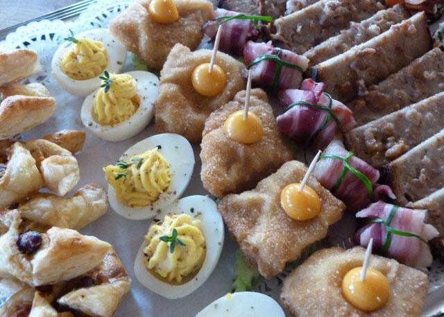 Partybuffet bei Pritscher in Bayerbach