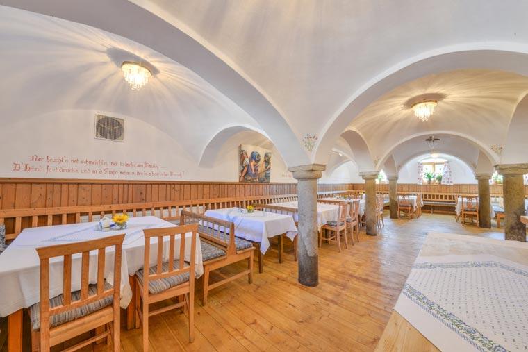 Raum mit Gewölbe in Bayerbach